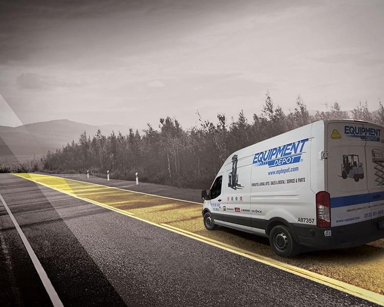 Equipment Depot Service Van