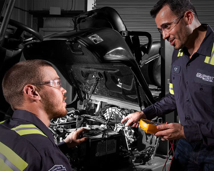 Quality Certified Service Technicians Repair Vehicle